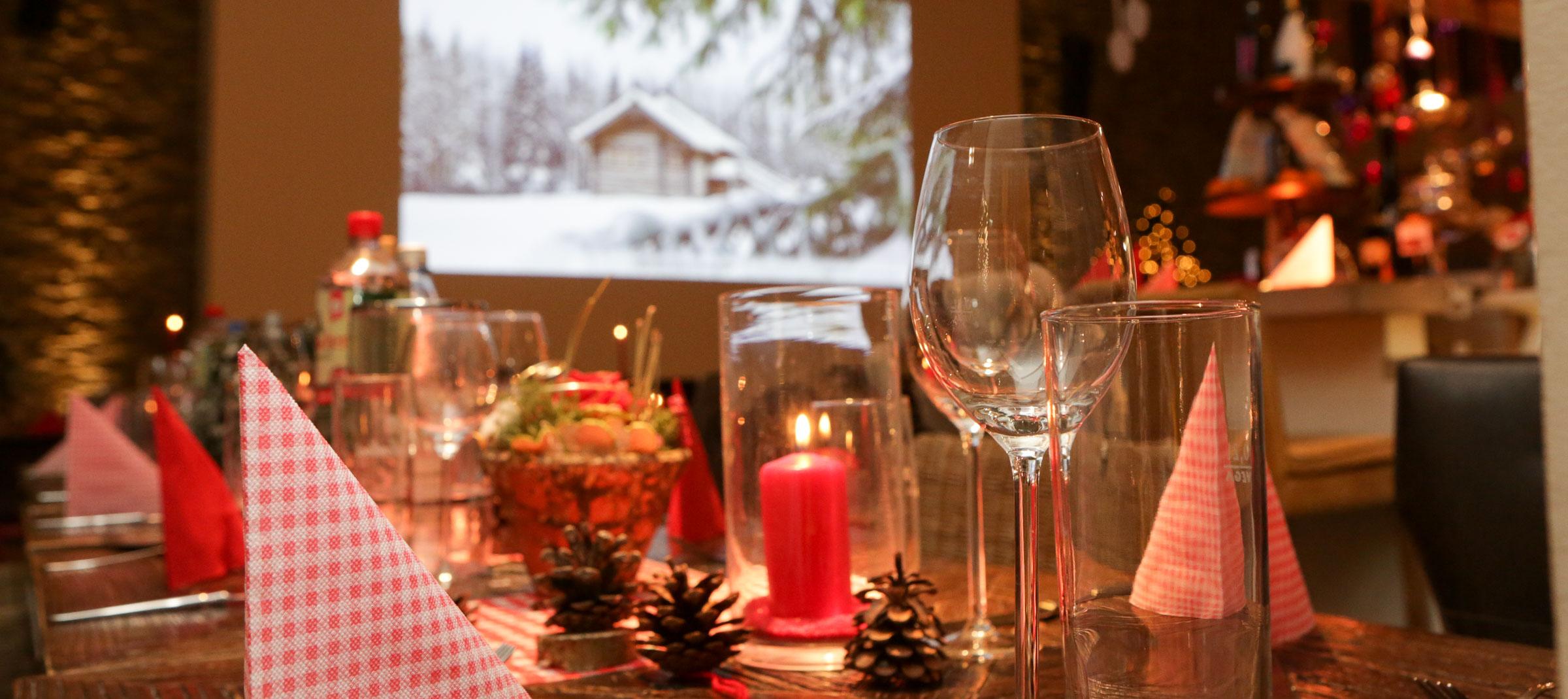 Weihnachtsfeier Dekoration.Ihre Weihnachtsfeier Mit Hüttenzauber Die Kulinarische Werkstatt